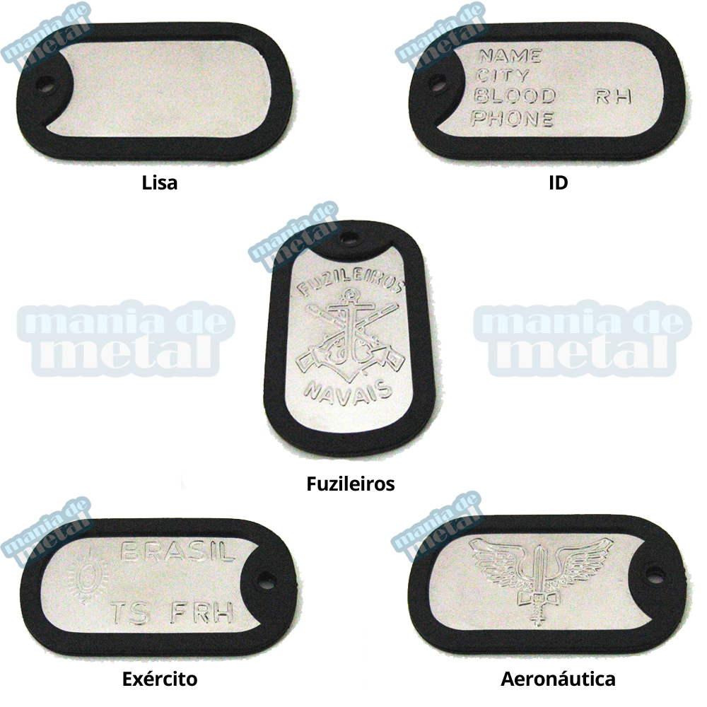 Loja-Mania-de-Metal-placas-plaquetas-dog-tag-dogtag-militar-exercito-aeronautica-policia-lisa-ID