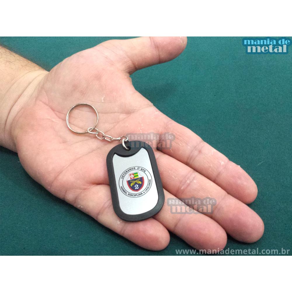 Chaveiro-Dog-tag-Dogtag-Personalizado-Veteranos-do-2º-Batalhão-de-Policia-do-Exército-loja-mania-de-metal-004