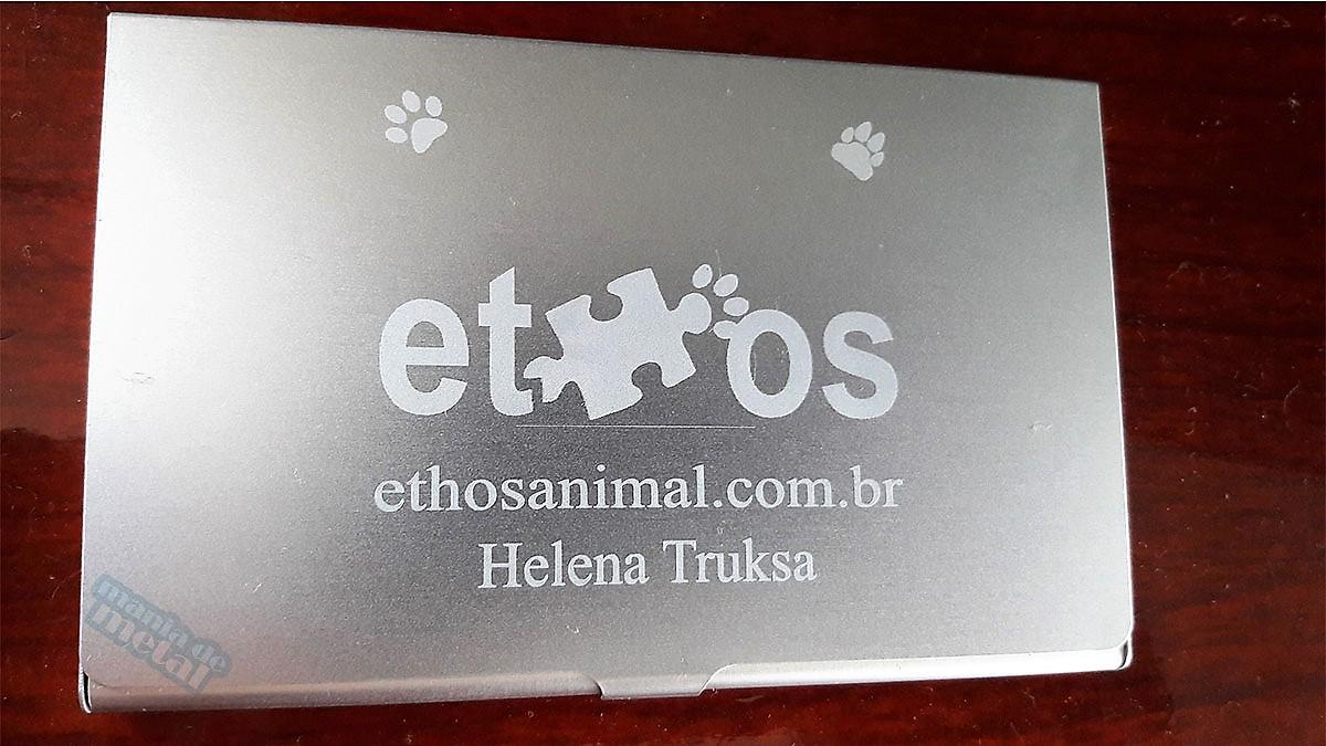 b508f093cf Porta cartão de alumínio Personalizado Brinde Presente com ou sem Gravação  Gravado Personalizado